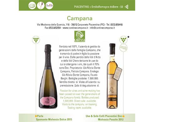 Emilia Romagna da bere e da mangiare 2016